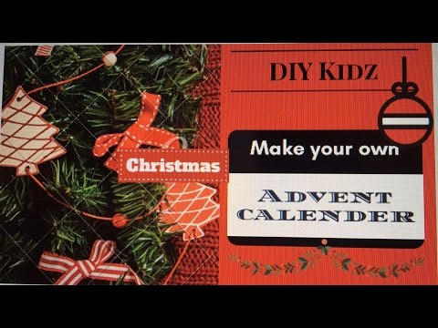 DIY Kidz with Bosch - make an Advent calender