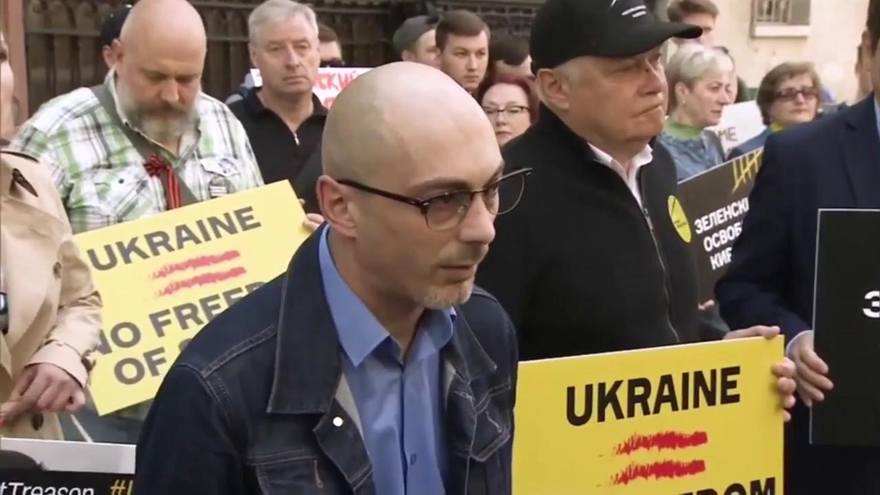 Свободу Кириллу Вышинскому! Акция у посольства Украины в Москве