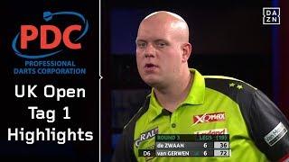Sensation! Mighty Mike scheidet gegen die Nr. 85 aus | Highlights | PDC UK Open | DAZN