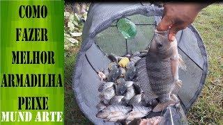 Como Fazer a Melhor Armadilha para Pegar peixe covo