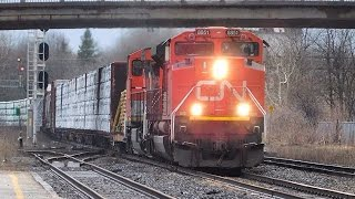 CN X371 makes an Emergency stop