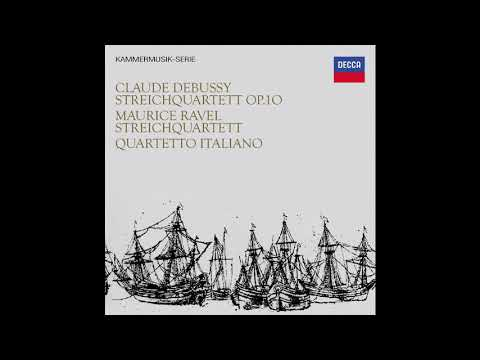 Maurice Ravel String Quartet in F major / Quartetto Italiano (1967/2016)