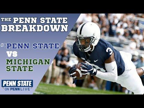 Penn State vs Michigan State | Ricky Slade, Juwan Johnson, Miles Sanders | The Breakdown with Adam B