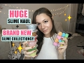HUGE SLIME COLLECTION & ANNOUNCING MY NEW SLIMES!💕