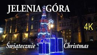 🇵🇱 JELENIA GÓRA 🎄 w Święta Bożego Narodzenia - Christmas [4K]