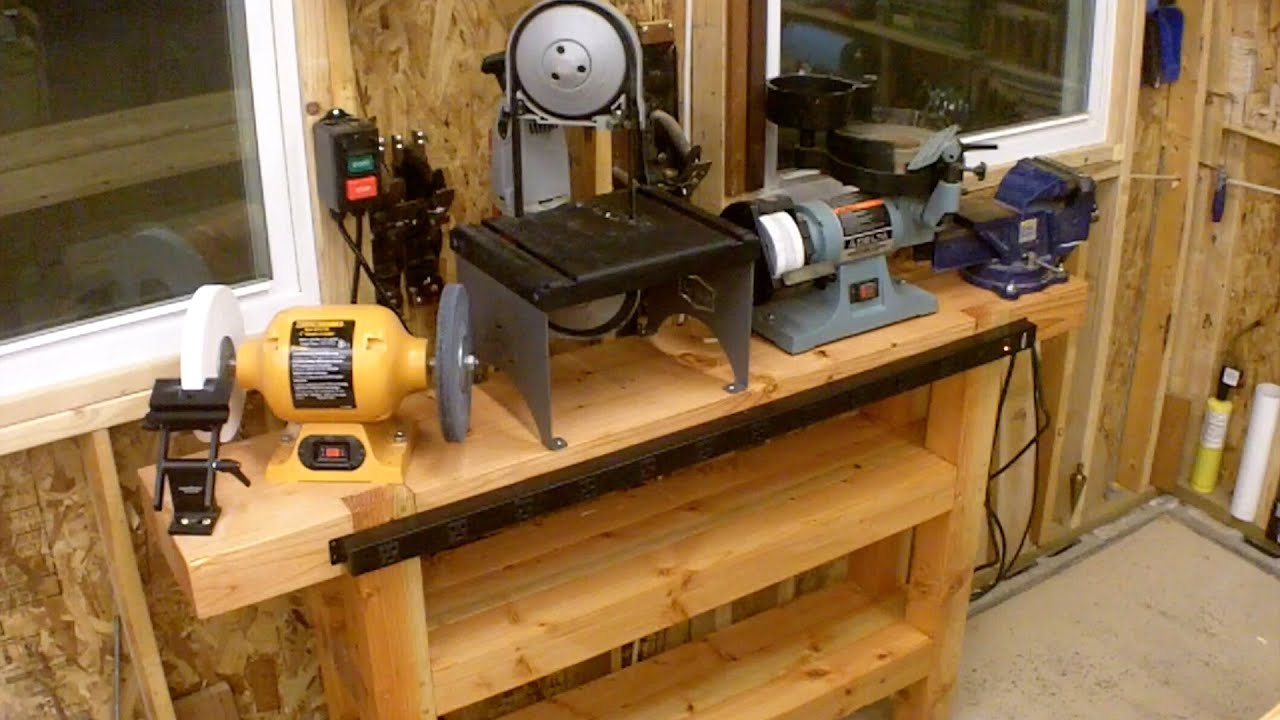 how to make a metal bench vise