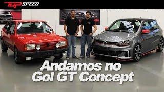 Exclusivo: Andamos no novo Gol GT Concept e o modelo de 1986!