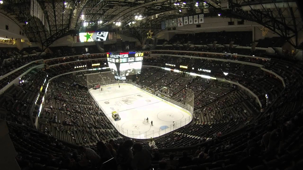 American Airlines Center Hockey Time Lapse Youtube