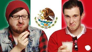 Irish People Taste Test Mexican Treats