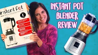 Instant Pot Blender Product Review and a Friendly Call to Customer Service | Well Done