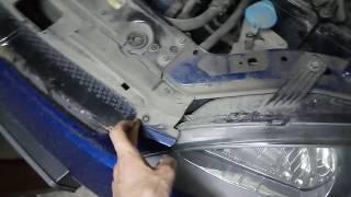 замена лампы поворотника переднего левого на Шевроле Лачетти Хэтчбэк
