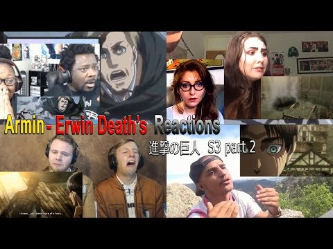 Armin - Erwin's Death Reactions (Shingeki no Kyojin S3 Episode 16-17)