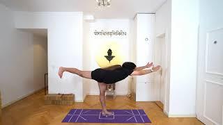 "Learn Virabadhrasana 3 ""Warrior 3"" easily with Shahid Khan. Yoga Bern. Yogveda Yoga"
