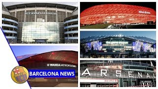 The world of stadium sponsorship What lies in store for Barcelona s Camp Nou news now
