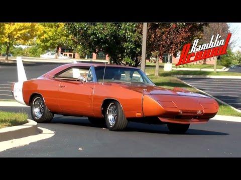 Test Drive 1969 Dodge Charger Daytona 440 V8