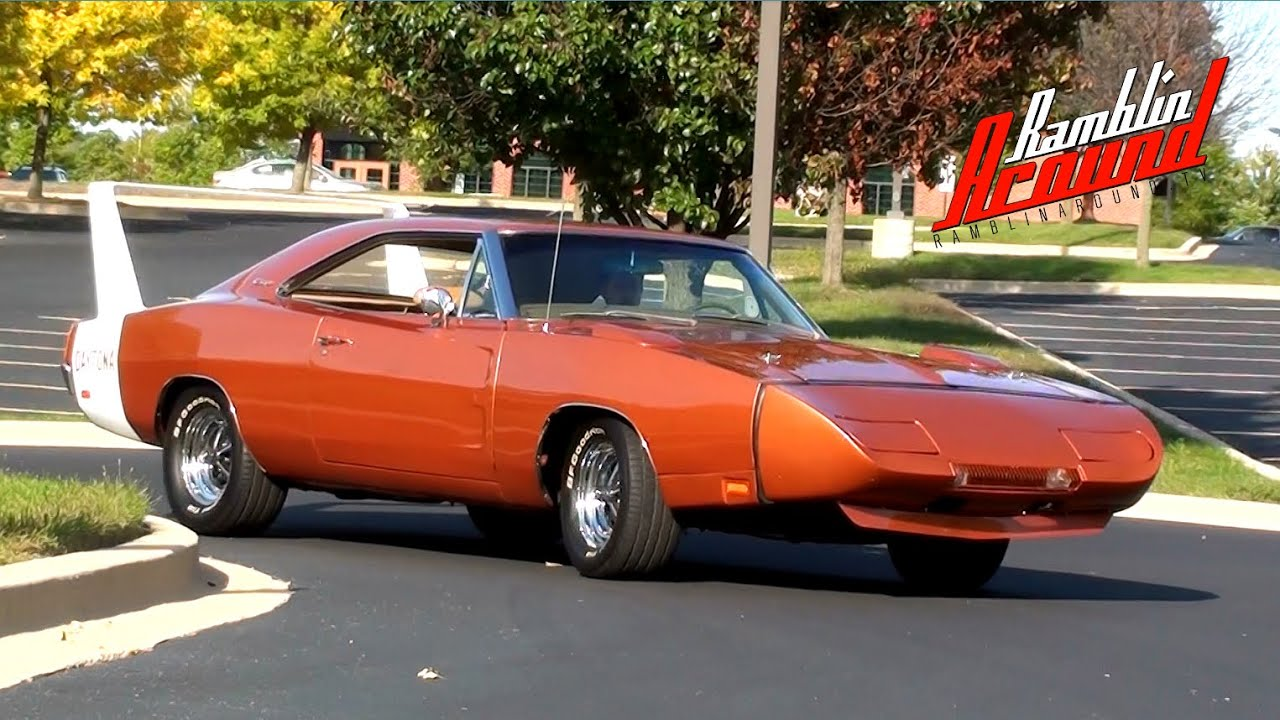 Test Drive 1969 Dodge Charger Daytona 440 V8 - YouTube