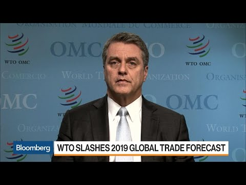 U.S.-China Tensions Driving Lowered Trade Forecast, WTO's Azevedo Says