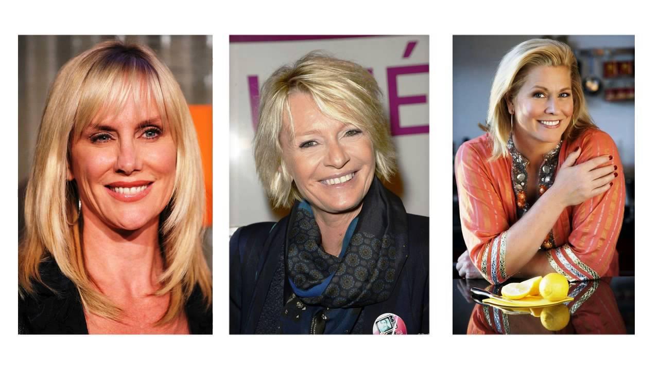 Taglio capelli per donne di 50 anni