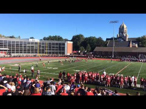 WATCH: Muhlenberg football comeback halted by Hopkins circus INT