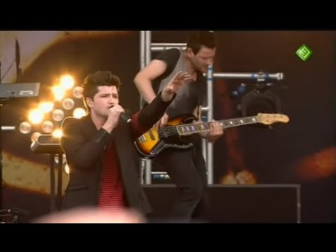 The Script - The Man Who Can't Be Moved LIVE At PinkPop 2011