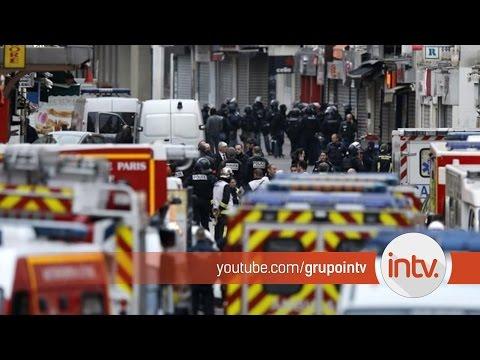 Una yihadista se inmoló durante un operativo antiterrorista en las afueras de París