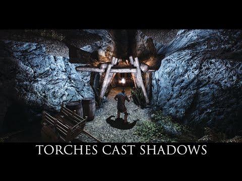 Skyrim SE Mods: Torches Cast Shadows