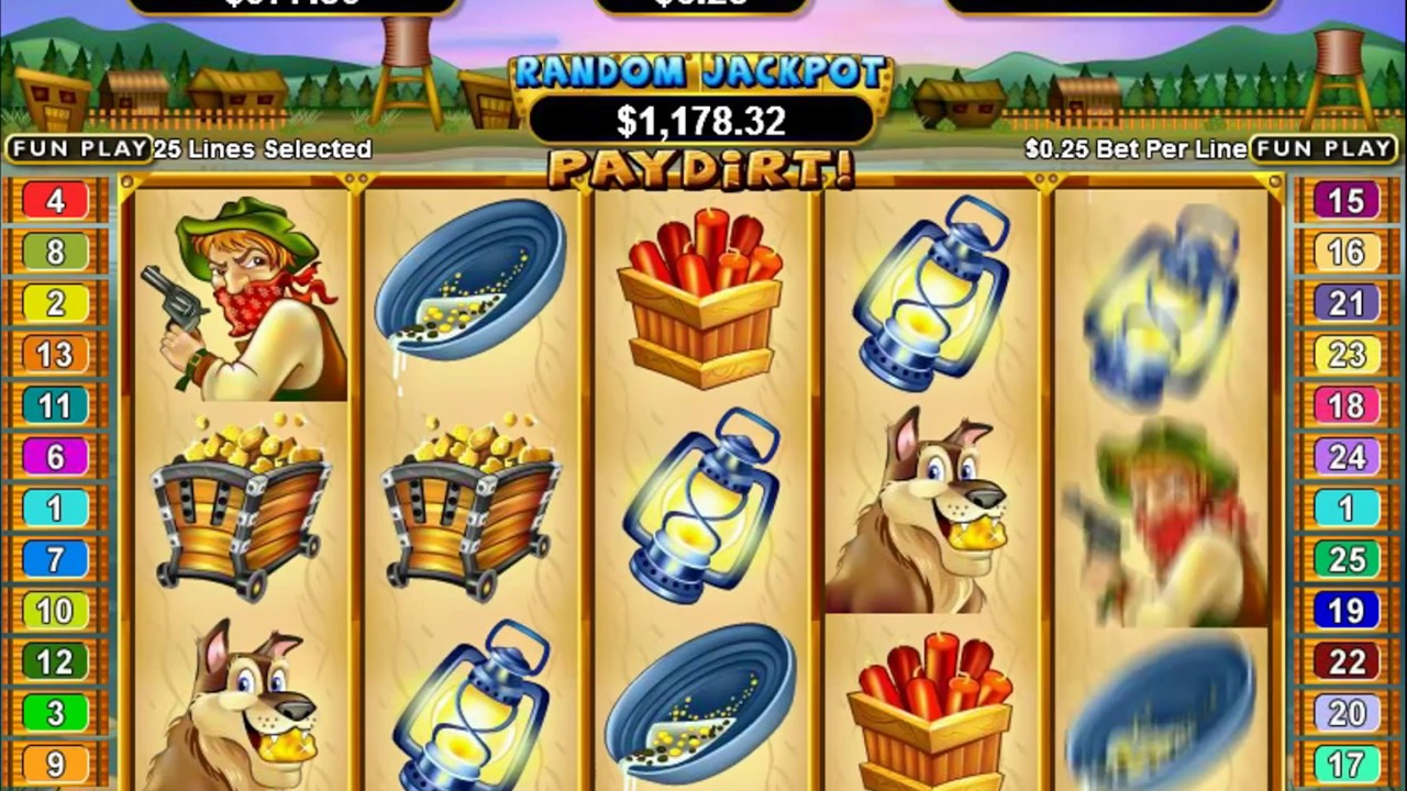 Paydirt Slot Machine