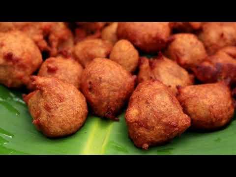 Cooking Banana Bonda in my village |  Kids Snack Recipe | VILLAGE FOOD
