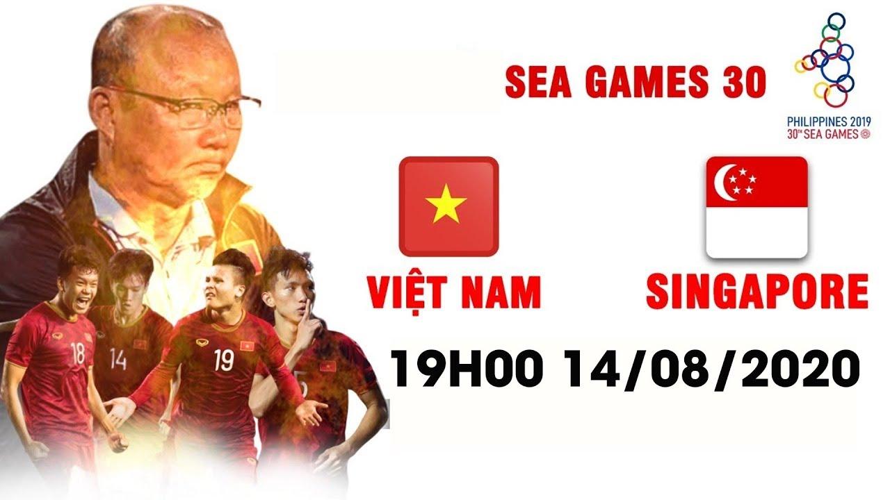 U22 Việt Nam - U22 Singapore | Cả 11 Người Đá Ở Sân Nhà, Đối Thủ Vẫn Không Cản Nổi Sức Mạnh Việt Nam