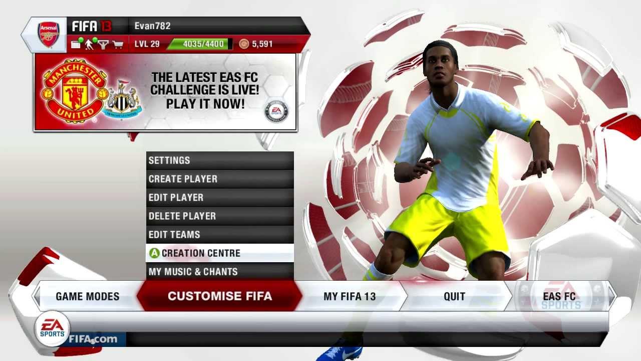 Patch fifa 13 transfer update