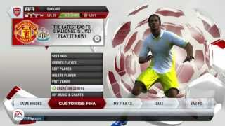 How to update your squads in FIFA 13 (Tutorial)