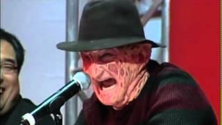 Download Video Freddy Vs Jason: Rueda De Prensa Con Pelea. Subtitulado En Español MP3 3GP MP4