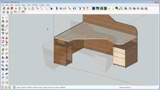 Autodesk Inventor 3d Model Usage In Sketchup For Interior Design