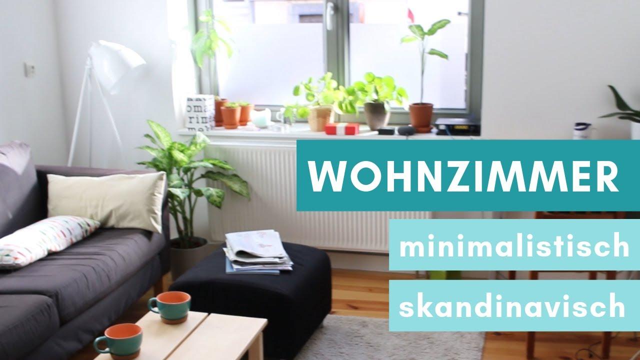 Minimalismus Roomtour Wohnzimmer Skandinavisch