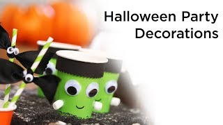 4 Easy and Creepy Halloween Decorations