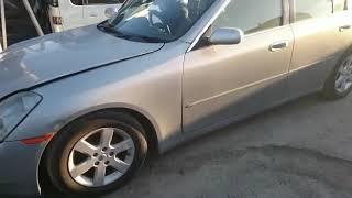Видео-тест автомобиля Nissan Skyline (V35-105644, Vq25dd, 2001г)