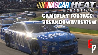 nascar heat evolution gameplay footage breakdown review
