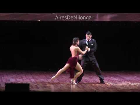 Mundial de Tango 2016  Final escenario, Alam Blascovich, Camila Delphim