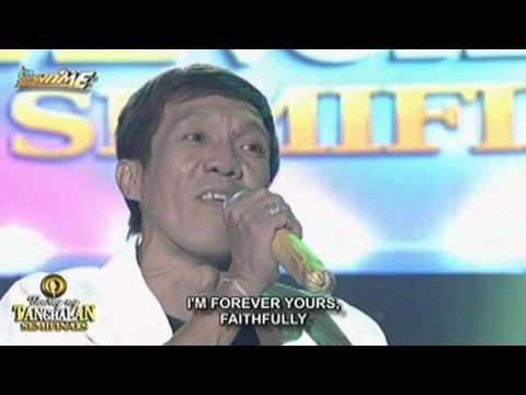 Tawag ng Tanghalan Jaime Navarro  Faithfully Round 5 Semifinals