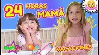 24 HORAS SIENDO MADRE EN VACACIONES!! MAMA POR UN DIA EN VACACIONES DE VERANO