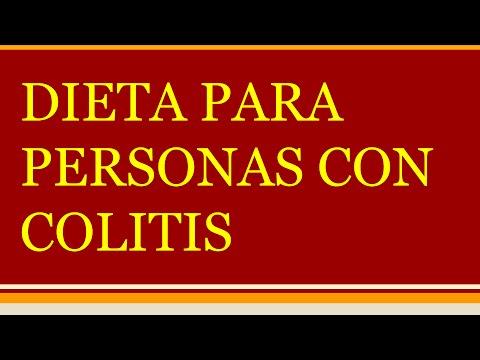 Dieta Para Colitis Dieta Para Personas con Colitis  YouTube