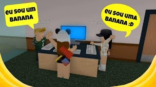 Roblox- Duas bananas fazendo bananada😂 (Flee the Facility)