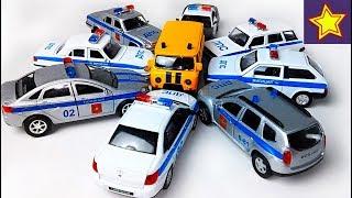 Про полицейские машинки ДПС, ППС, милиция, полиция Игорюша показывает машинки Police car for kids
