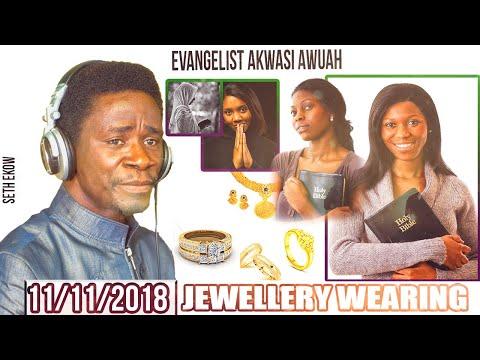 Evangelist Akwasi Awuah On Jewellery Wearing