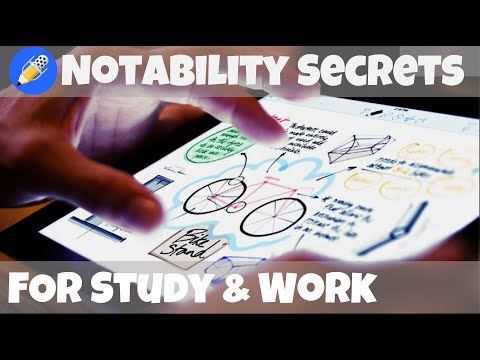 Notability Tips & Secrets -  IPad Pro | Top Features That Matter To Study And Work