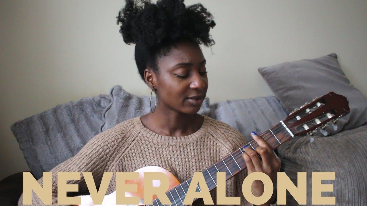 Tori Kelly - Never Alone ft Kirk Franklin (Live Acoustic Cover) | Adegail - YouTube