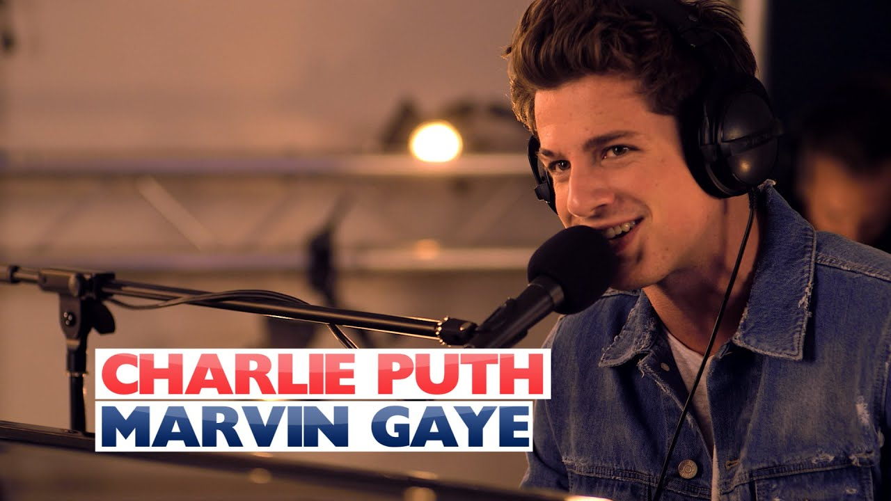 Download Charlie Puth - 'Marvin Gaye' (Capital Session)