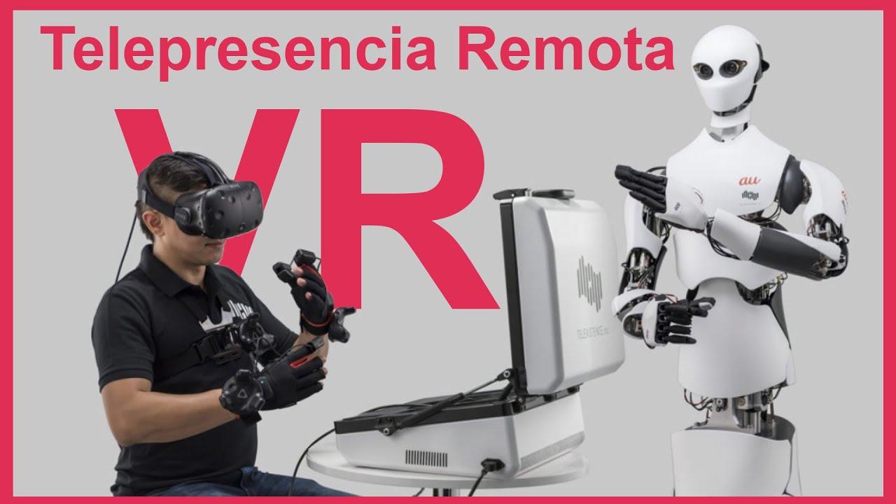 Telepresencia Vr , Trabajar remotamente es posible 😎 Wow !!! - Español