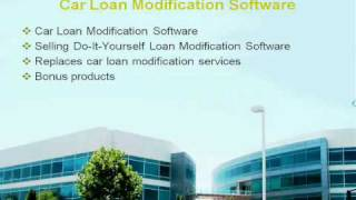 Your Own Car Loan Modification Software Business Part 1