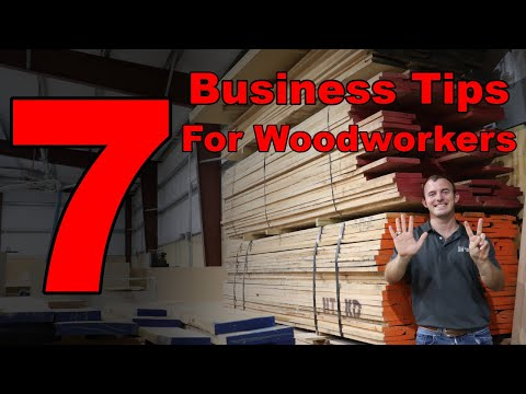 7 Reasons You're NOT Making Money Woodworking | Business Tips